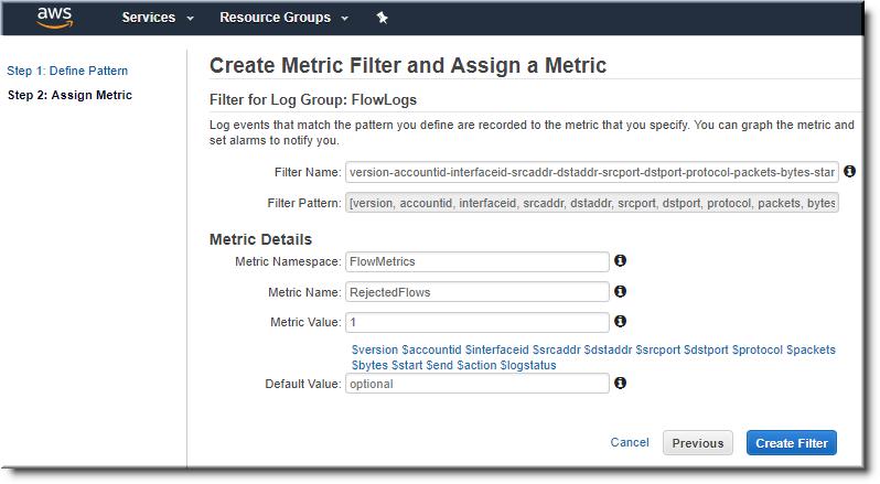 create metrics